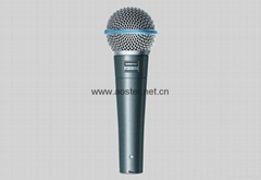 Shure BETA 58A - Dynamic Microphone Exporting Version 1:1 Top