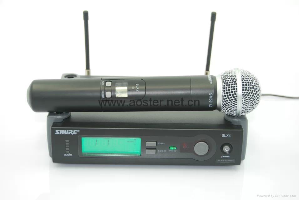 Shure Wireless Microphone SLX24/BETA58 2