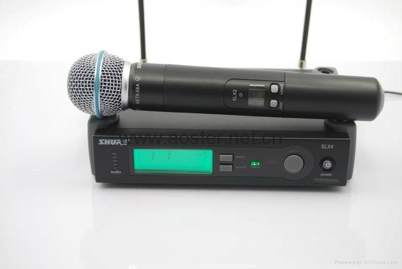 Shure Wireless Microphone SLX24/BETA58 1