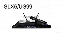 Professional UHF Wireless Microphone with EQ function GLX6/UG99