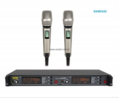 2016 UHF Wireless Microphone SKM9300 with Two Metal Microphones/200Channels/Show
