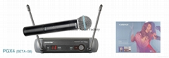 SHURE PGX24/BETA58 Wireless Microphone Manufacturer