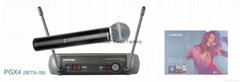 SHURE PGX24/BETA58 Wireless Microphone