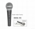 Shure SM58KS Vocal Microphone(Exporting