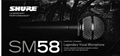 Shure SM58KS Vocal Microphone(Exporting Version 1:1)