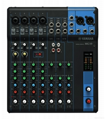 Yamaha MG10XU 10-Channel Mixer with Effects, Portable Mixing Console