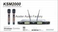 SHURE Wireless Microphone KSM2000 Manufacturer(4A  Top)
