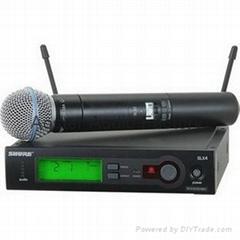 Shure Wireless Microphone SLX24/BETA58(572-596mhz)4A TOP