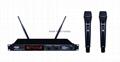 SHURE Wireless Microphone BLX100 Dual Mics (VHF 220-270mhz)