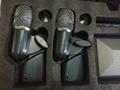 Shure microphone  BETA98DSX2  BETA91AX1  BETA56A X4 Drum kit