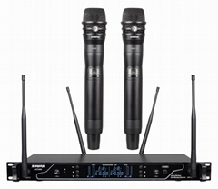 SHURE AXT500 Dual Wireless Microphone(650-699mhz)
