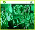 LED Green color cross sign display