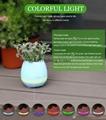 Bluetooth Magic Smart Touching music flowerpot led light music flower pot vase 4