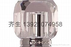 水晶香水瓶蓋