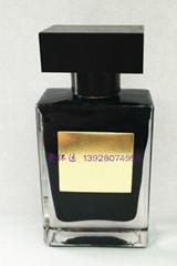 中東25ml三朵花高檔香水玻璃瓶