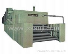 噴氣式網帶單板乾燥機