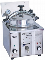 countertop pressure fryer/table top deep fryer (CE,manufacturer)