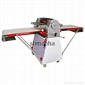 manual dough sheeter croissant making