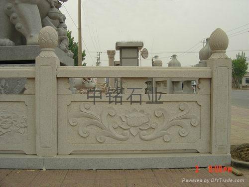 汉白玉栏板 2