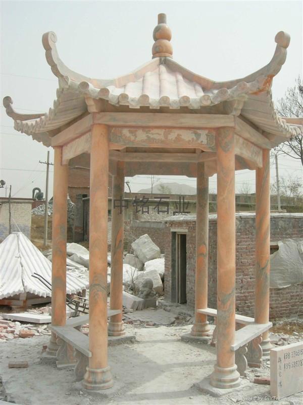 石雕涼亭 1