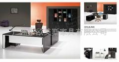 實木班臺 廣州辦公傢具 定做辦公傢具WA2
