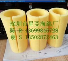 高密度清洗海綿柱