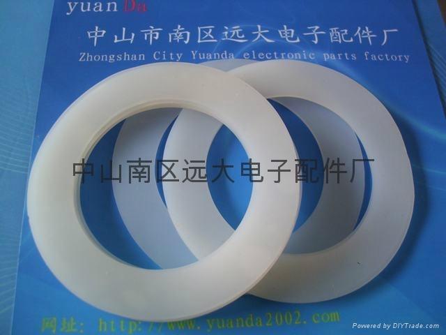 LED燈硅膠墊圈/耐溫硅膠墊片