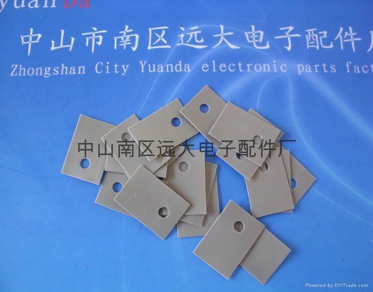 電器絕緣矽膠布/電池絕緣墊片