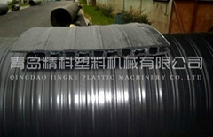 HDPE大口徑雙平壁塑鋼纏繞管設備
