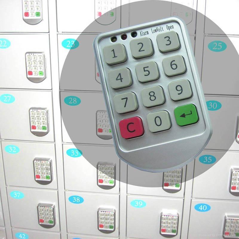 數字按鍵電子密碼鎖 1
