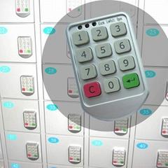 数字按键电子密码锁