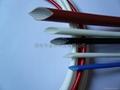 硅橡胶玻璃纤维(内纤外胶)套管 2