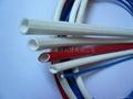 硅橡胶玻璃纤维(内胶外纤)套管 2