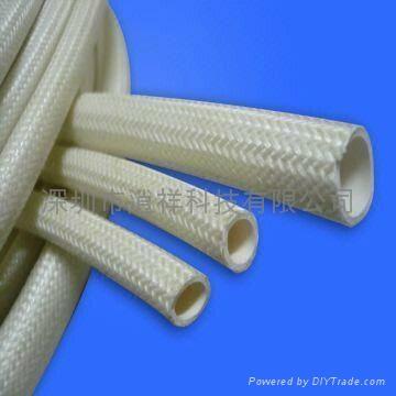 硅橡胶玻璃纤维(内胶外纤)套管 3