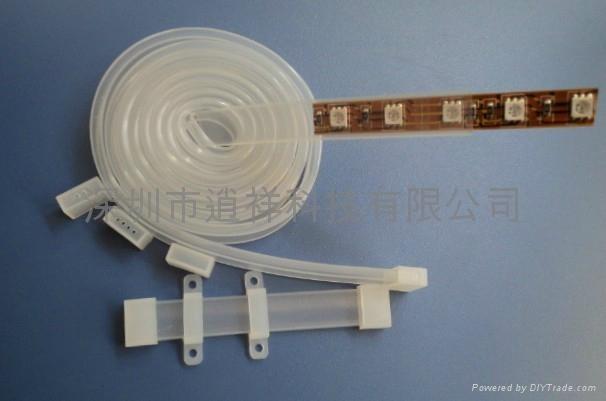 LED软灯条硅胶套管 5