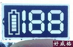 Electronic cigarette LCD screen