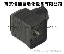 電磁閥DIN43650插頭 1