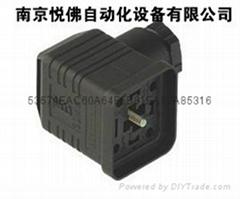 電磁閥DIN43650插頭