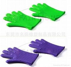 硅膠隔熱手套