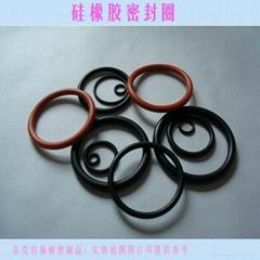 广东生产橡胶圈 橡胶制品氟橡胶密封圈厂家
