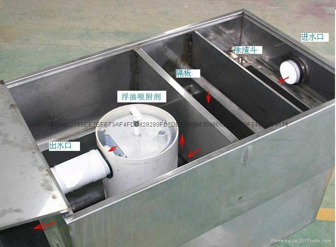 森綠無動力油水分離器 7