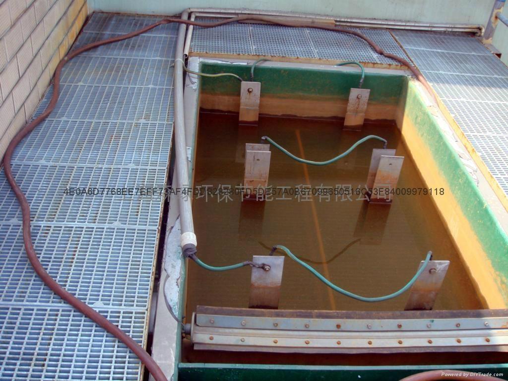 高浓度废水电凝聚电气浮电氧化设备 1