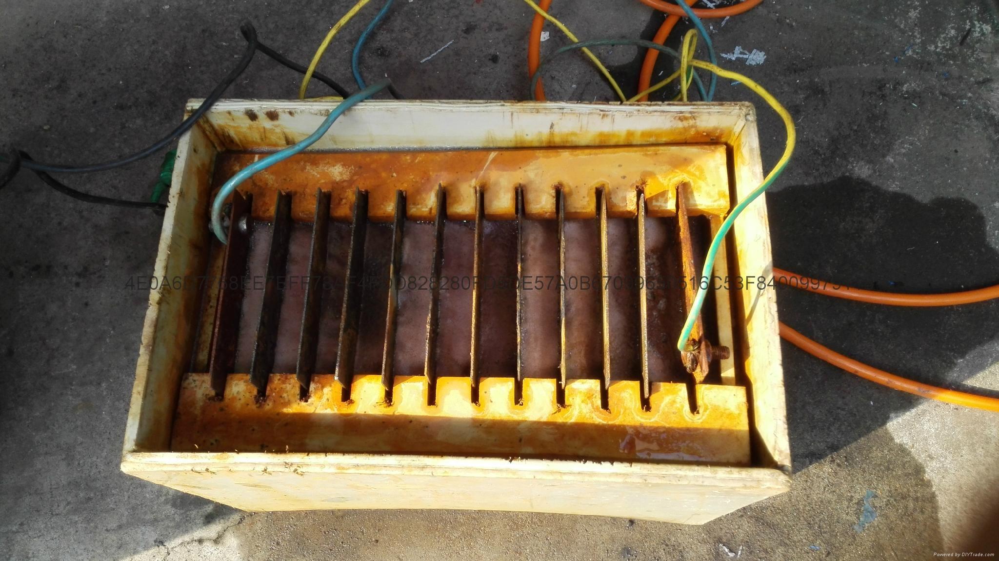 高浓度废水电凝聚电气浮电氧化设备 5