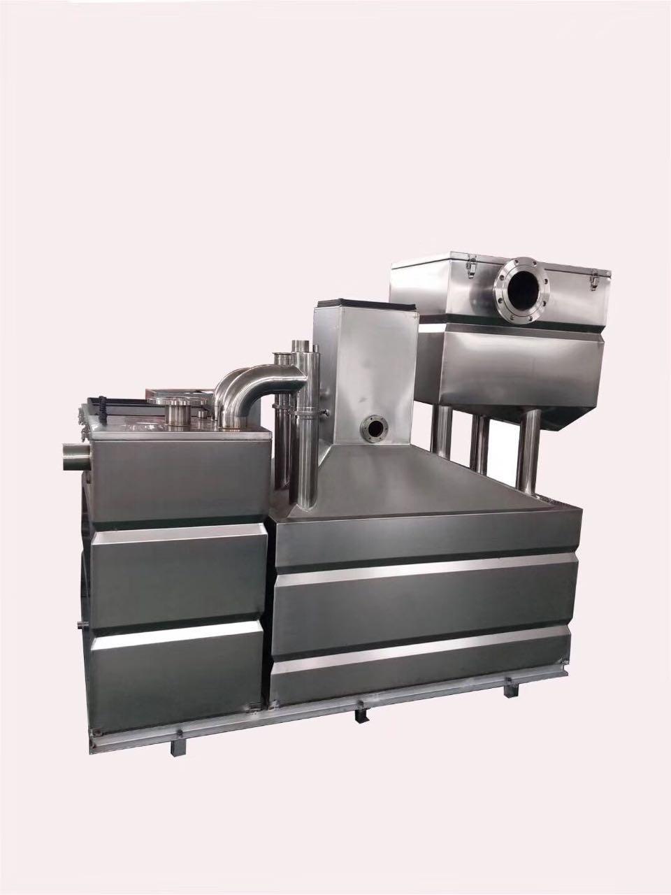 全自動除渣除油電加熱油水分離設備 3