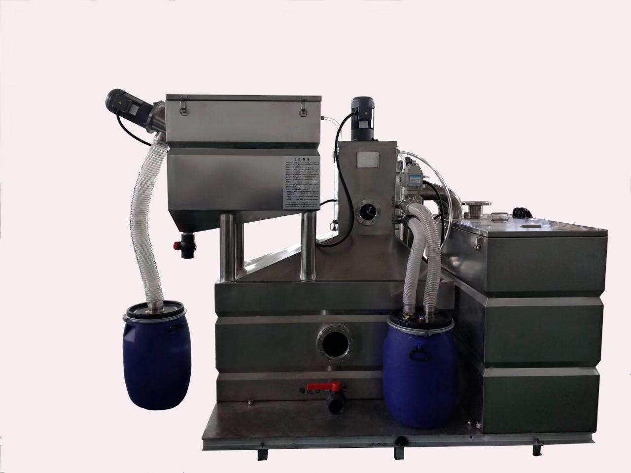 全自動除渣除油電加熱油水分離設備 4