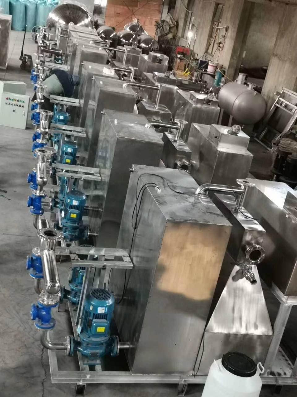不锈钢地下室污水提升器 3