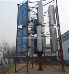Large Vertical Wind Turbine Generator