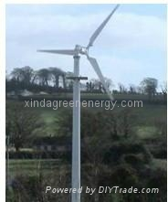 5kw Pitch Controlled Variable Speed Wind Turbine Generator