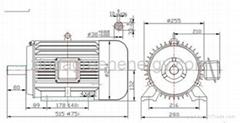 5.5kw-11kw 1500rpm diesel Permanent Magnet Generator