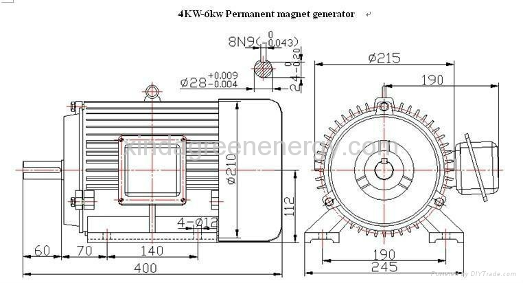0 2kw to 6kw high speed permanent magnet generator 1500rpm 3000rpm 4500rpm  china trading